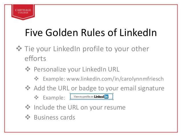 linkedin how to create an effective profile