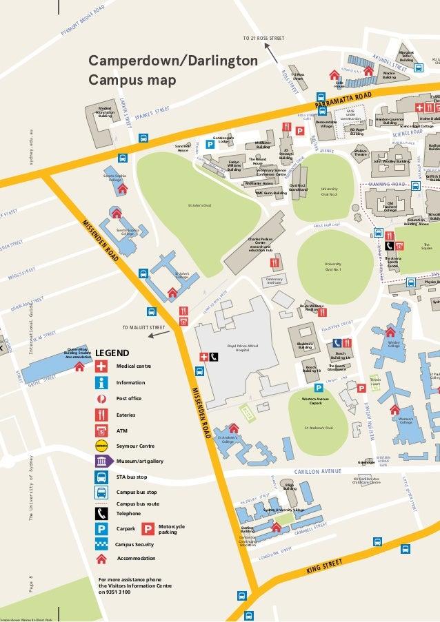 Lander University Campus Map.Unisyd International Guide