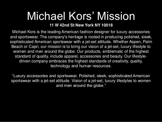 M By Michael Kors Autosaved