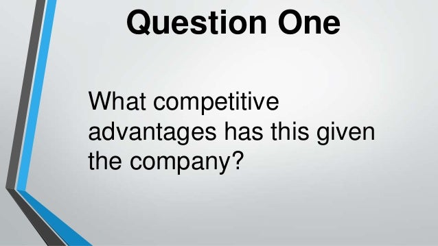 an analysis of the competitive advantage within a single firm and the use of efficiency Learning from others can be helpful in identifying your own competitive advantage check out the following two examples to see how these organizations define their uniqueness pershing general hospital is a 125-bed, primary-care facility located in a rural area with no other hospitals within 50 miles.