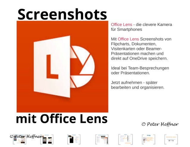 Office Lens #68: Screenshots mit Office Lens