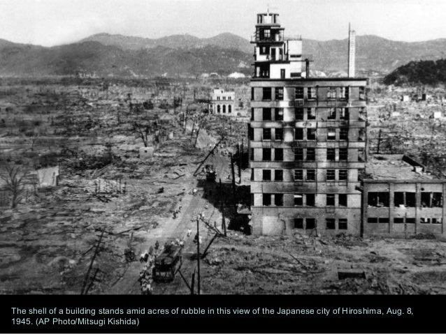 a discussion of the significance of the atomic bombs dropped on hiroshima and nagasaki and how they  Apush ch 36 voc study  after the a-bomb fell on hiroshima and nagasaki in 1945,  the united states dropped an atomic bomb on hiroshima in japan.