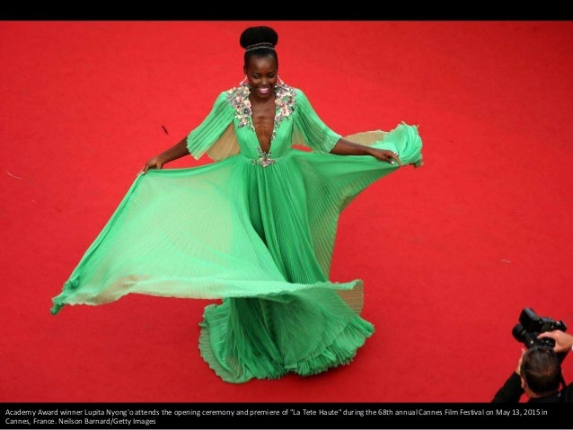 "Academy Award winner Lupita Nyong'o attends the opening ceremony and premiere of ""La Tete Haute"" during the 68th annual Ca..."