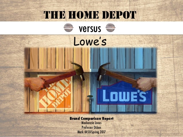 home depot vs. loweís analysis essay Financial analysis: home depot and lowes ratio analysis - home depot vs lowes depothtm free essay home depot history and business case analysishtm.