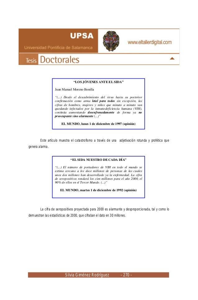 Silvia Giménez Rodríguez - 270 - Este artículo muestra el catastrofismo a través de una adjetivación rotunda y profética q...