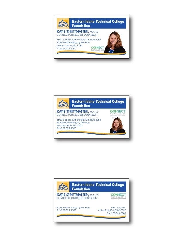 Business card proofs business card proofs eastern idaho technical college foundation 1600 s 25th e idaho falls id 83404 5788 colourmoves