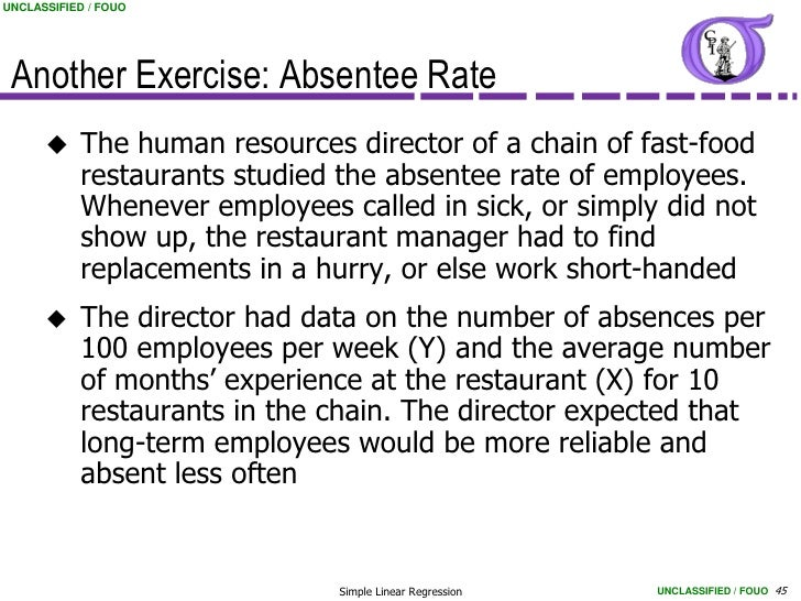 Average Number Of Employees Per Fast Food Restaurant