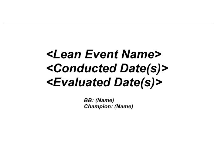 Blank Logo LEAN template