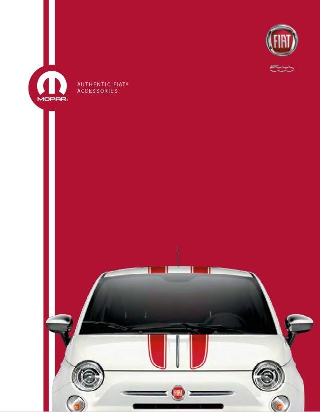 FIAT Accessory Brochure NJ FIAT Dealer - Fiat nj