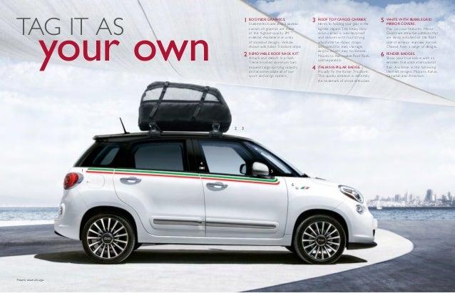 2015 Fiat 500l Accessory Brochure Nj Fiat Dealer