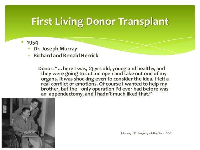 Kidney Transplant Exploring Living Donation