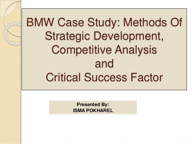 bmw case study harvard Read harvard case: launching the bmw z3 roadster free essay and over 88,000 other research documents harvard case: launching the bmw z3 roadster harvard case.
