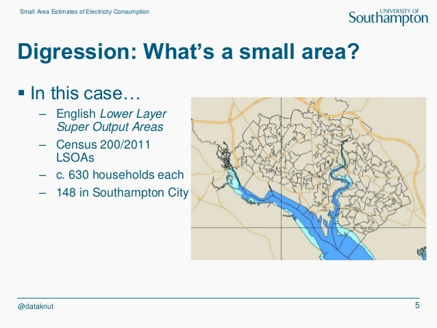 small area estimation as a tool for thinking about temporal and spati u2026
