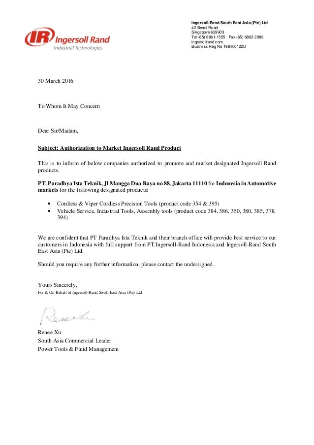vehicle release authorization letter