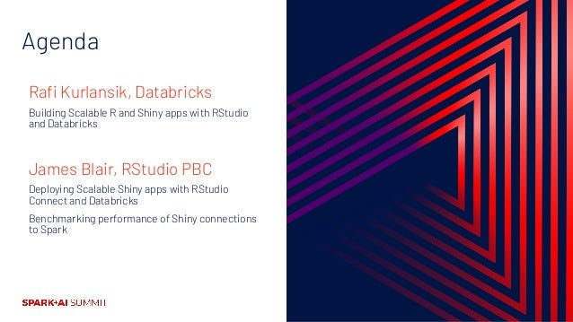 How R Developers Can Build and Share Data and AI Applications that Scale with Databricks and RStudio Connect Slide 3