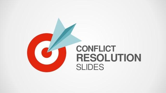 SlideModel - Conflict Resolution PowerPoint Template