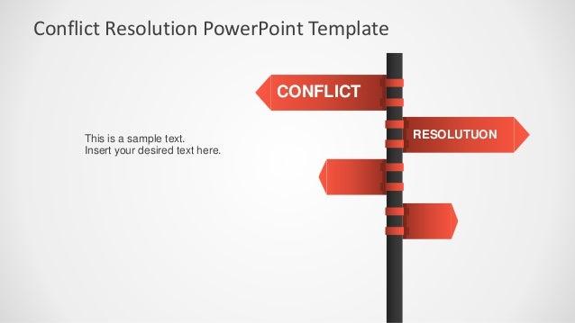 SlideModel - Conflict Resolution PowerPoint Template Slide 2