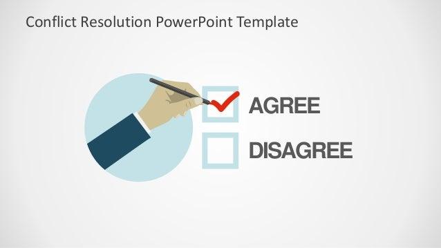 Slidemodel conflict resolution powerpoint template agree disagree conflict resolution powerpoint template toneelgroepblik Image collections