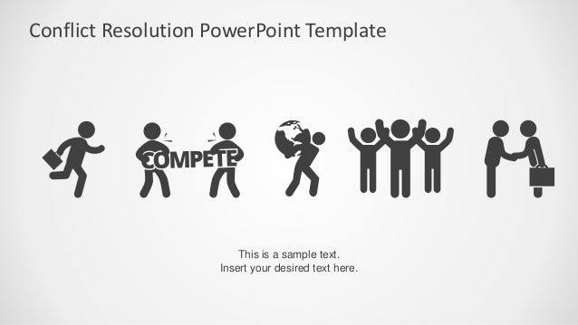Slidemodel conflict resolution powerpoint template template competing avoiding collaborating accommodating compromising uncooperative cooperative cooperativeness unassertiveassertive assertiveness 9 toneelgroepblik Choice Image
