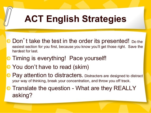 Image result for ACT English