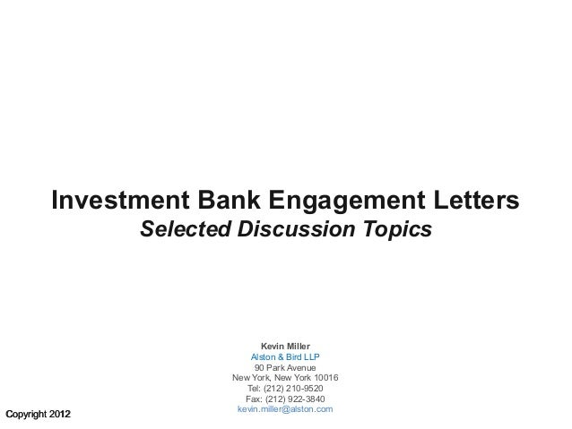 Investment bank indemnification angelines aromatics investment calculators