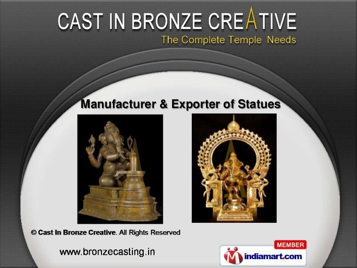 Manufacturer & Exporter of Statues