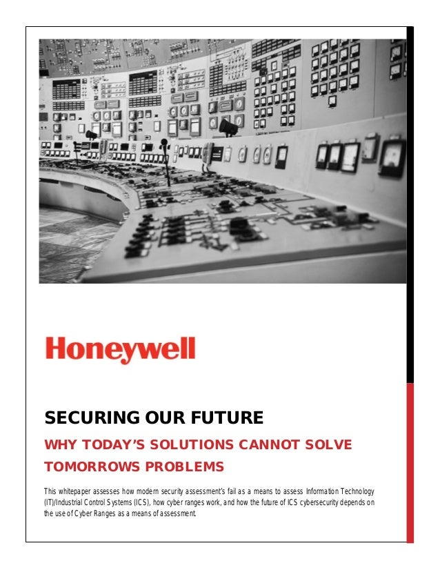 This whitepaper assesses how modern security assessment's fail as a means to assess Information Technology (IT)/Industrial...