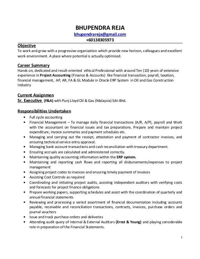 Bhupendra Resume