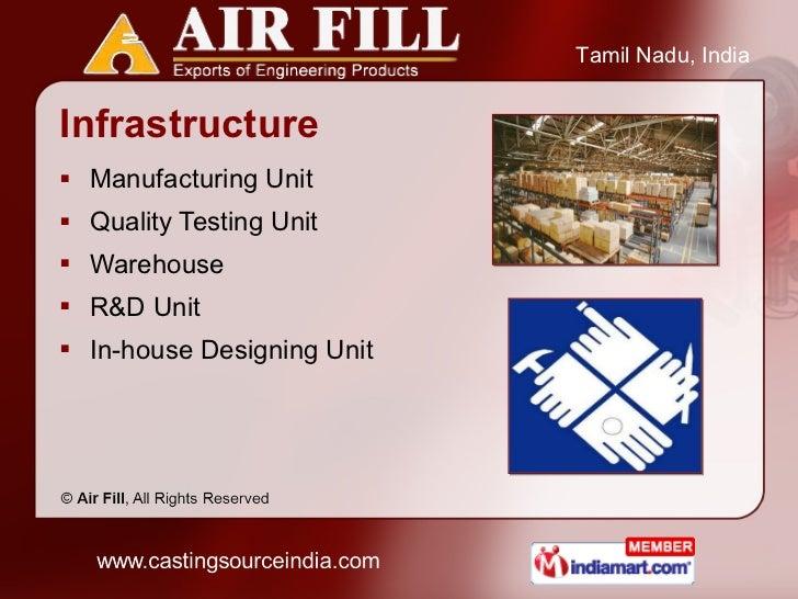Infrastructure <ul><li>Manufacturing Unit  </li></ul><ul><li>Quality Testing Unit  </li></ul><ul><li>Warehouse </li></ul><...