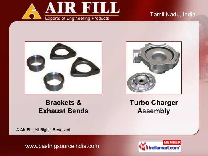 Brackets & Exhaust Bends Turbo Charger Assembly