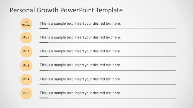 SlideModel - Personal Growth PowerPoint Template