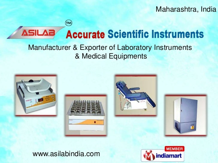 Blood Bank Equipment by Accurate Scientific Instruments, Thane