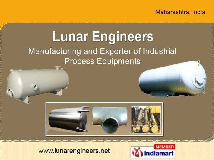 Manufacturing and Exporter of Industrial Process Equipments Maharashtra , India