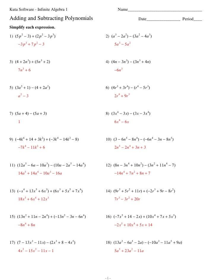 Algebraic Multiplication Worksheet Algebra 2 Worksheet Kuta – Free Printable Ged Math Worksheets