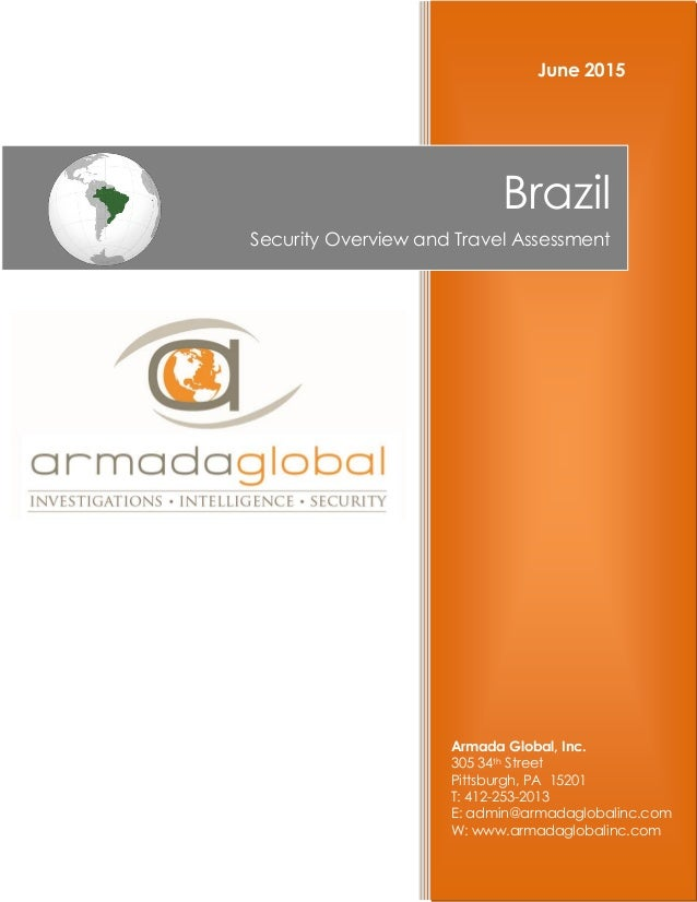 Armada Global, Inc. 305 34th Street Pittsburgh, PA 15201 T: 412-253-2013 E: admin@armadaglobalinc.com W: www.armadaglobali...