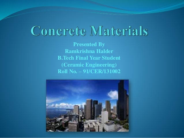concrete microstructure properties and materials 3rd edition pdf