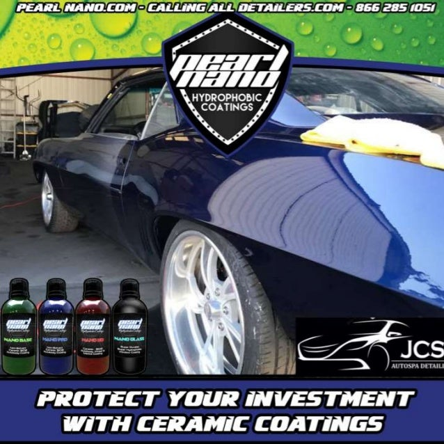 69 Camero got Paint Corrected and Pearl Nano Coating Pearl Nano Coatings - Super Hydrophobic Nano Coatings For Auto Detail...