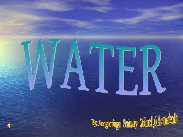 *THE WATER CYCLE *PICTURE DICTIONARY *WATER IN OUR WORLD *WATER UNDER THE GROUND  *MAKING CLOUDS  * WATER IN HOUR HO...