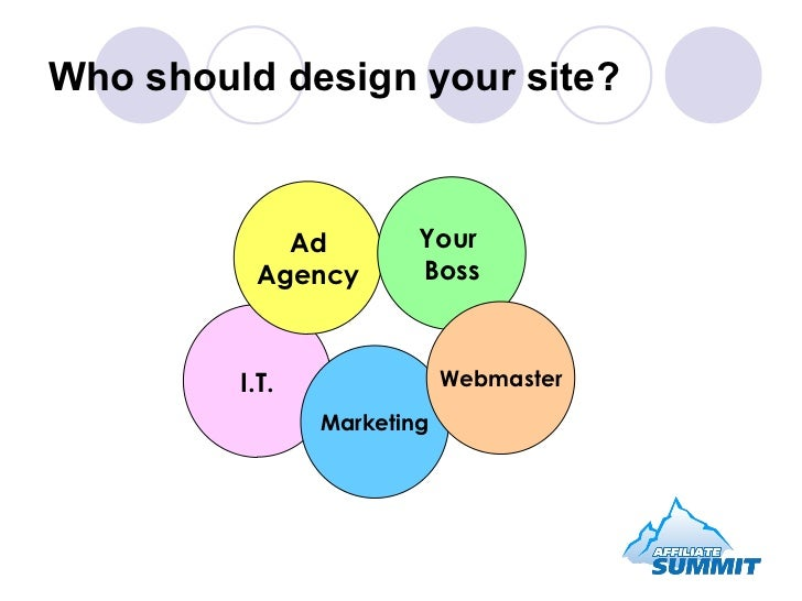 Who should design your site? I.T. Marketing Ad Agency Your  Boss Webmaster