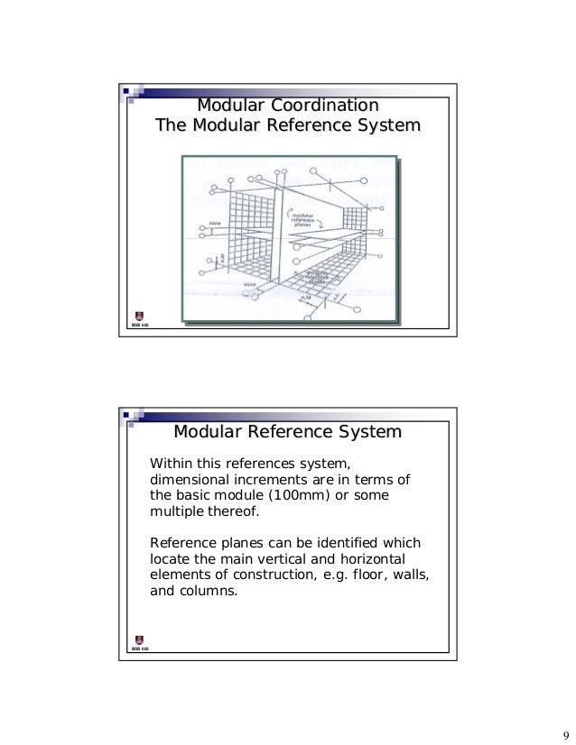 Modular Coordination ...