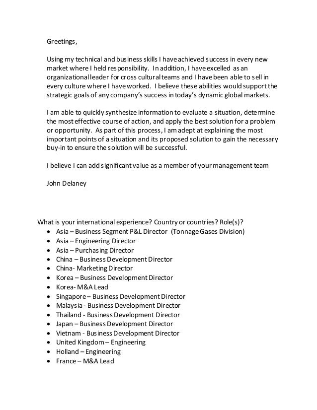 Cover letter for new opportunities for Cover letter looking for new opportunities