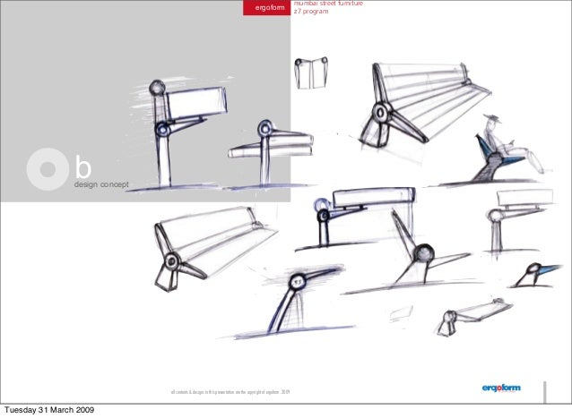 Mumbai Street Furniture Concepts 2008,Pennsylvania School Of Art And Design
