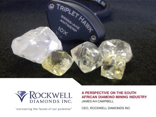 A Perspective On The South African Diamond Mining Industry