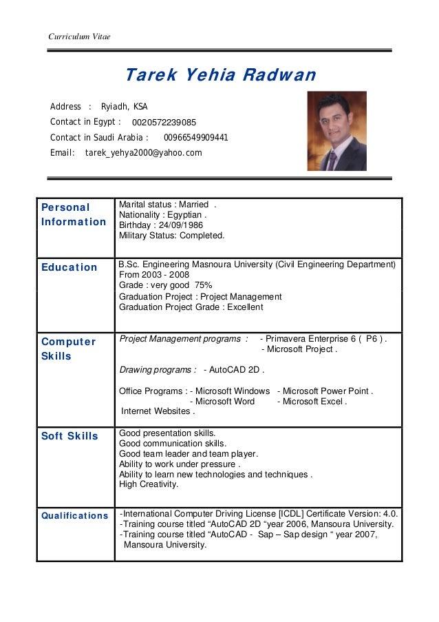 tarek cv 2015 planning