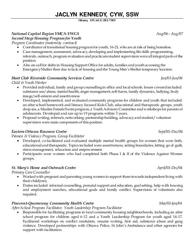 Cover letter for after school program leader