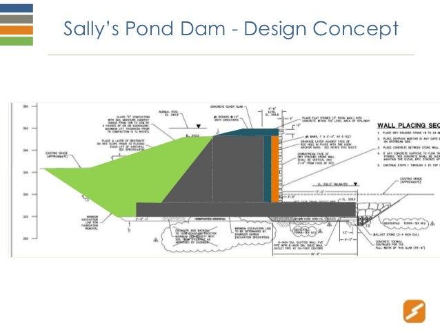 Rcc ot case studies jyoung rcc2015 for Pond dam design