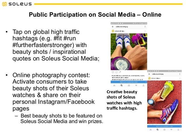 Soleus Social Media Marketing Proposal
