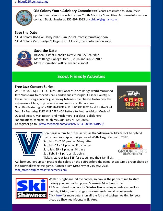 Electronic Newsletter Sample  Knapsack 11 2016