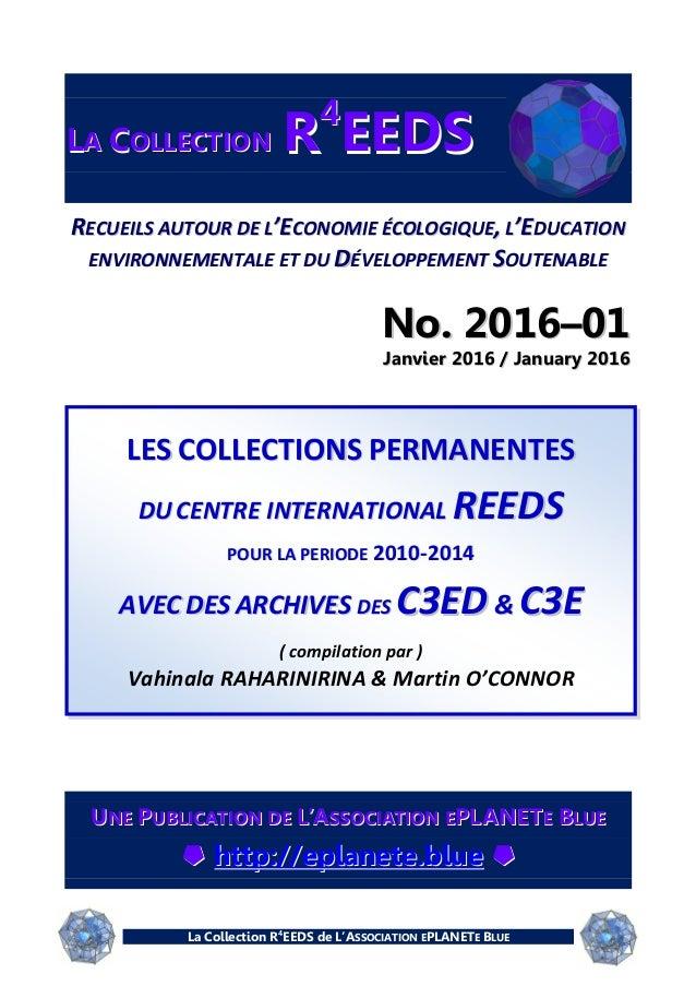 La Collection R4 EEDS de L'ASSOCIATION EPLANETE BLUE LLAA CCOOLLLLEECCTTIIOONN RR44 EEEEDDSS RREECCUUEEIILLSS AAUUTTOOUURR...