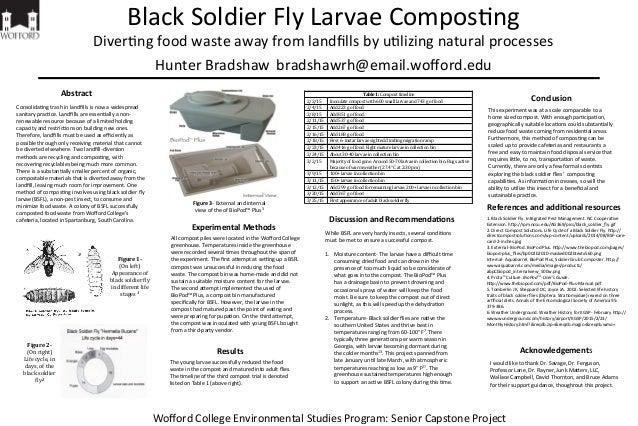 Black  Soldier  Fly  Larvae  Compos5ng   Diver5ng  food  waste  away  from  landfills  by  u5lizing...